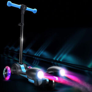 Cool Kid Kick 3-Wheel Scooters with LED Flashing Tires