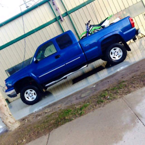 Lifted 2004 5.3L Silverado 1500