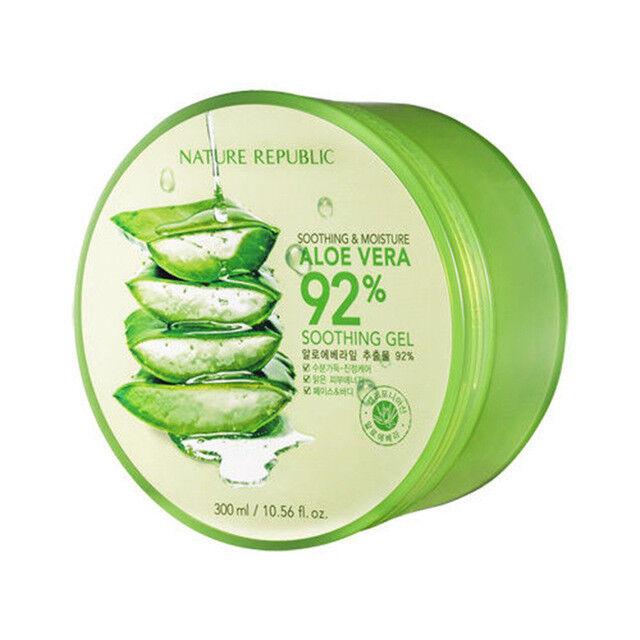 Aloe Vera 92% Soothing Gel - 300ml / 10.56 fl. oz.