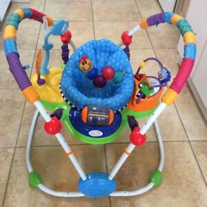 Baby Kids Jumper Musical Sound Activity Bouncer Play Swing Toy