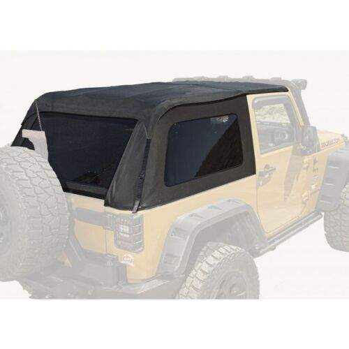 Rugged Ridge Bowless Top Black Diamond 2-Door 07-18 Jeep Wrangler JK 13750.39