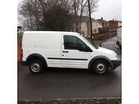 White ford Transit Connect 1.8 petrol 78657mileage, 2 owners, Bifuel