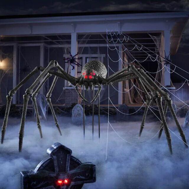 5.5 ft. Tall Gargantuan Spider Halloween Decoration