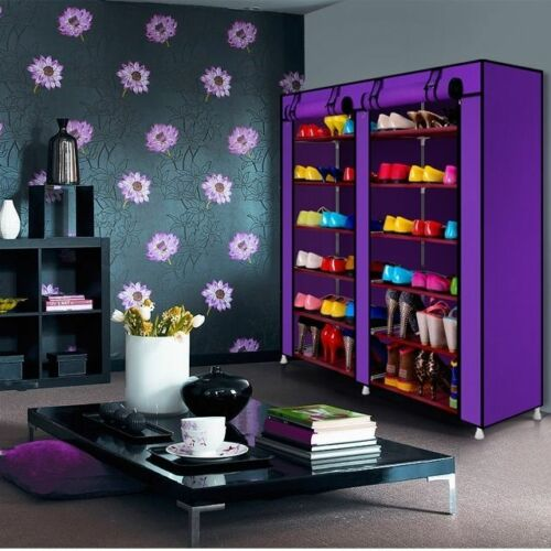 schuhschrank stoff schuhregal faltschrank schuhst nder. Black Bedroom Furniture Sets. Home Design Ideas