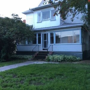 Extra Large 3 bedroom suite in character home for rent.