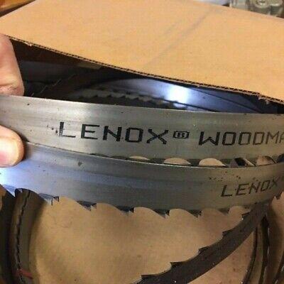 Qty 6 -lenox Bandsaw Blades 139 X 1-14 X .042 X 1.1t - Wood-mizernorwood Msg