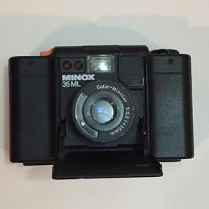 Minox 35ML film camera with Color-Minotar 35 F2.8 - Made in Germany