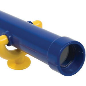 TELESCOPE~BLUE Outdoor Play Equipment Fort Playground Accessories