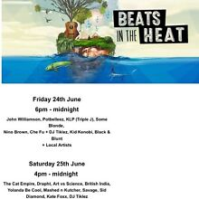 2 X BEATS IN THE HEAT - SAT ADMISSION ONLY Coogee Cockburn Area Preview