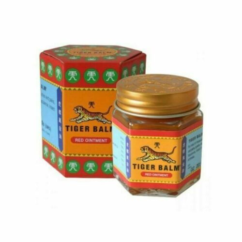 2PCS Tiger Balm (Red) Super Strength Pain Relief Ointment 21ml+ FREE GIFT