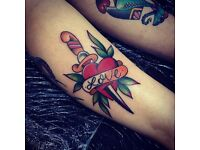 New tattoo shop offers custom work, friendly atmosphere, great prices. Licensed and Sterile Tattoos