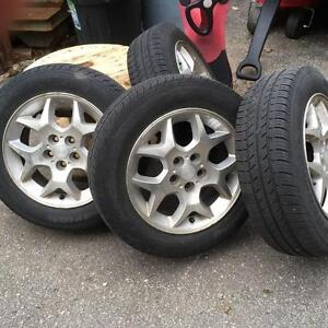 Toyota Corolla Mags and tires wheels P185/65 R15