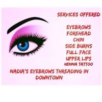 Looking for a job as an Eyebrow Threading and waxing artist