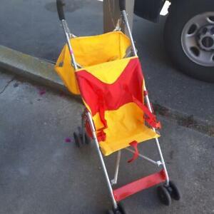 Winnie the Pooh umbrella stroller