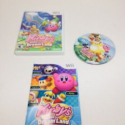Kirby's Return to Dream Land  (Nintendo Wii, 2011) Complete Tested