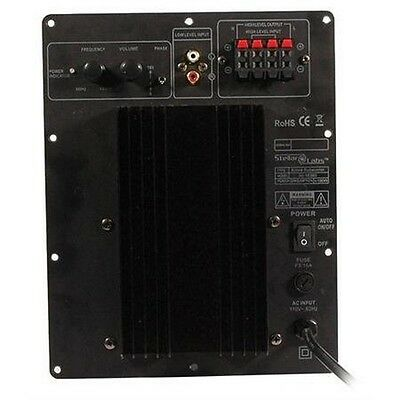 MCM CUSTOM AUDIO 50-6269 Subwoofer Speaker Bass Plate Power Amplifier 120W
