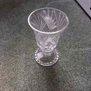 Crystal candle holders (2)