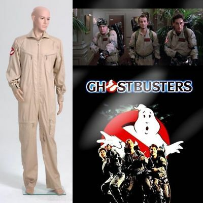 Ghostbusters Team Uniform Jumpsuit Costume Cosplay:free shipping