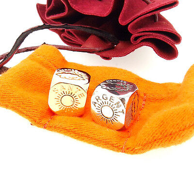 Hermes Dice set Silver Woman Authentic Used Y3305