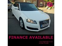 Audi A3 2.0 TDi DIESEL Cabriolet - Recent Cambelt Change!! 3 MONTH WARRANTY & New MOT Inclusive!!