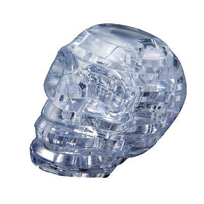 Crystal 3D Puzzle Skull Spooky Jigsaw Brain Teaser Model