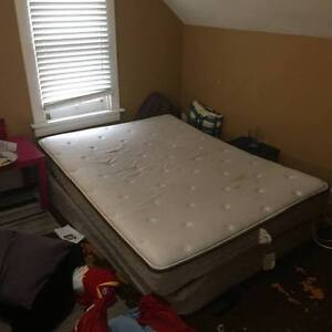 Double sized mattress and box spring