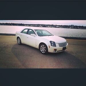 White, 2007 Cadillac CTS