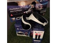 Playstation VR (PSVR) Bundle for Sale - Headset with Camera, Aim & Move Controllers - MUST GO