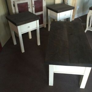 Custom Harvest Console Coffee End Tables & Cabinetry