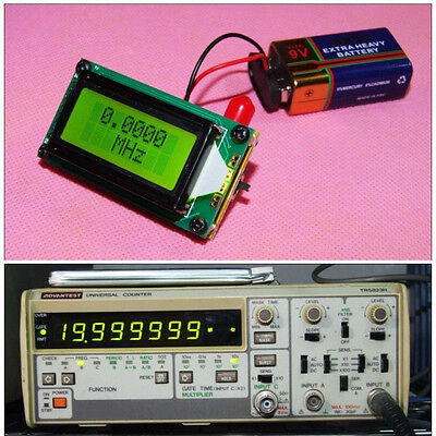 High Accuracy Rf 1500 Mhz Frequency Counter Tester Lcd Measurement F Ham Radio