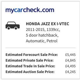 HONDA JAZZ ECO CAR CHEAP LOW MILE LONG MOT ONO