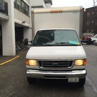 2005 Ford E450 Super Heavy Duty Cube Van