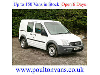 2013 (13) FORD CONNECT T220 SWB 5 SEAT CREW VAN / COMBI - 1.8TDCI, Small