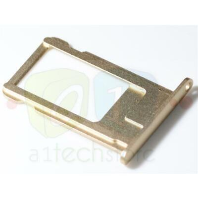 For Apple iPhone 6 4.7 Original Sim Card tray holder metal replacement part Gold (Apple Iphone 4 Sim Card Tray)