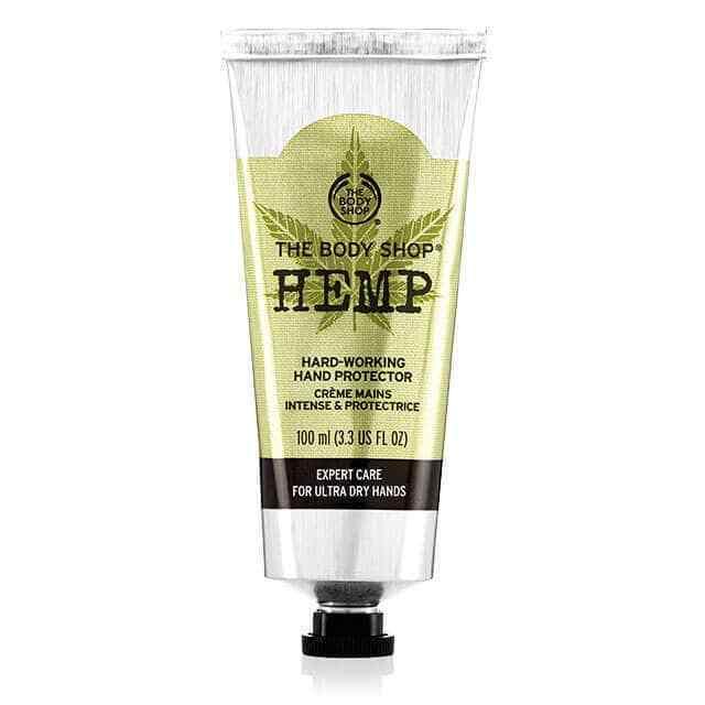 The Body Shop Hemp Hard Working Hand Protector Cream Full Si
