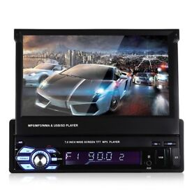 "Single 1 Din 7"" HD GPS Car Stereo +GPS"