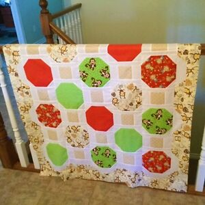 CRIB QUILT - MONKEY London Ontario image 1