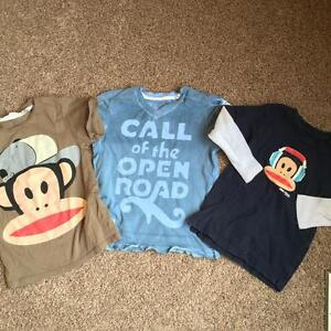 Boys 4T Guess & Paul Frank Shirts