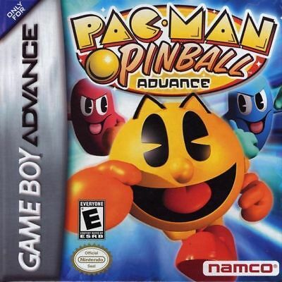 Pac-Man Pinball GBA New Game Boy Advance