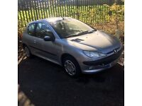 Peugeot 206 1.1L 2002 - SPARES OR REPAIR (NON RUNNER)