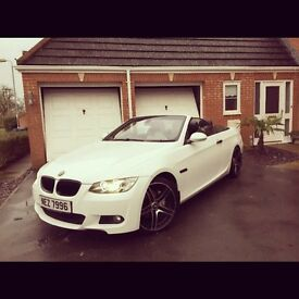 BMW 3 series convertible m sport including private plate