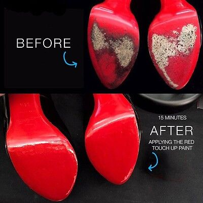 Paint & Clear Sole Protector Kit For Louboutin Shoes Repair Special Blend Paint for sale  Shipping to India