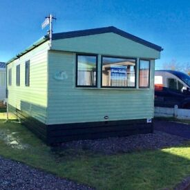 Static holiday home by the sea.Owners only park