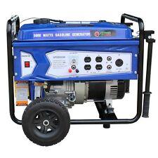 Green-Power America 5000W Portable Gas Powered Generator w/ Recoil Start