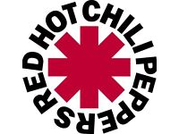 4 Tickets for Red hot chilli peppers in Glasgow