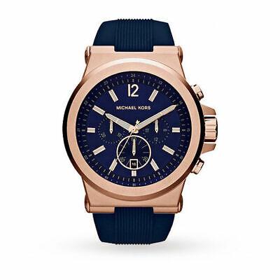 Michael Kors MK8295 Blue Wrist Watch for Men