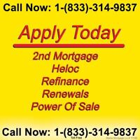 We Love 2nd & 3rd Mortgages, Residential, Construction & Private