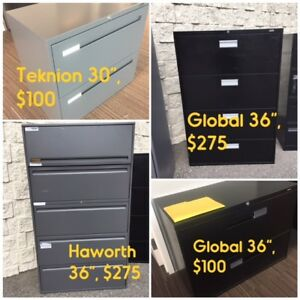 FILE CABINETS, OFFICE CHAIRS, STEEL SHELVES, ANTI-FATIGUE MAT
