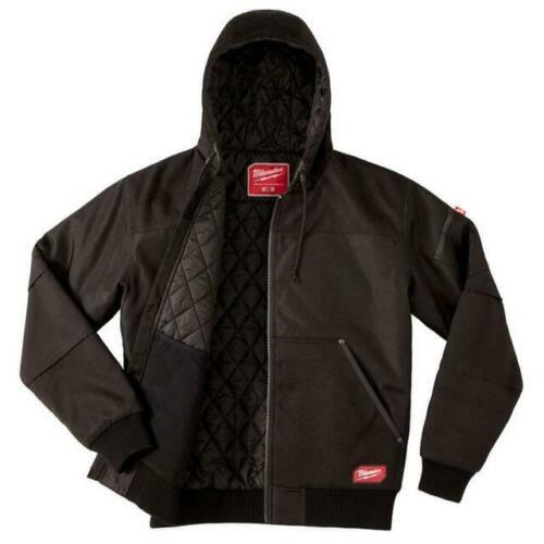 Milwaukee 254B-XL (XL) Black GridIron Hooded Jacket