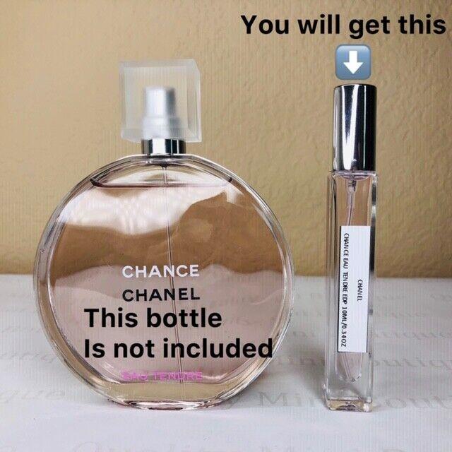 CHANEL Chance Eau Tendre Eau De Parfum Spay Sample 10ml 033oz